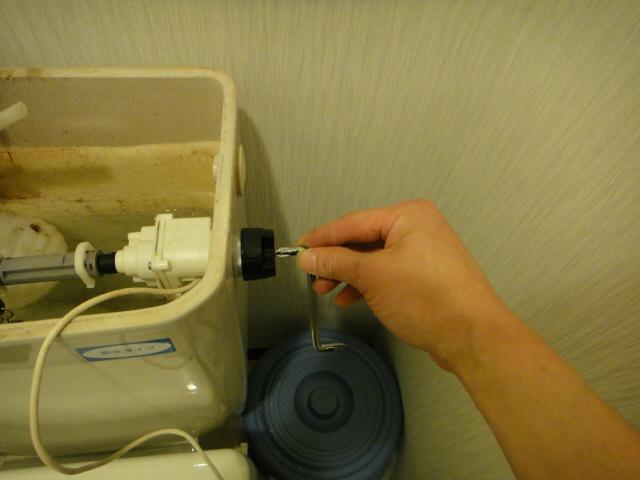 TOTO 便器洗浄ユニットTCA221の取付