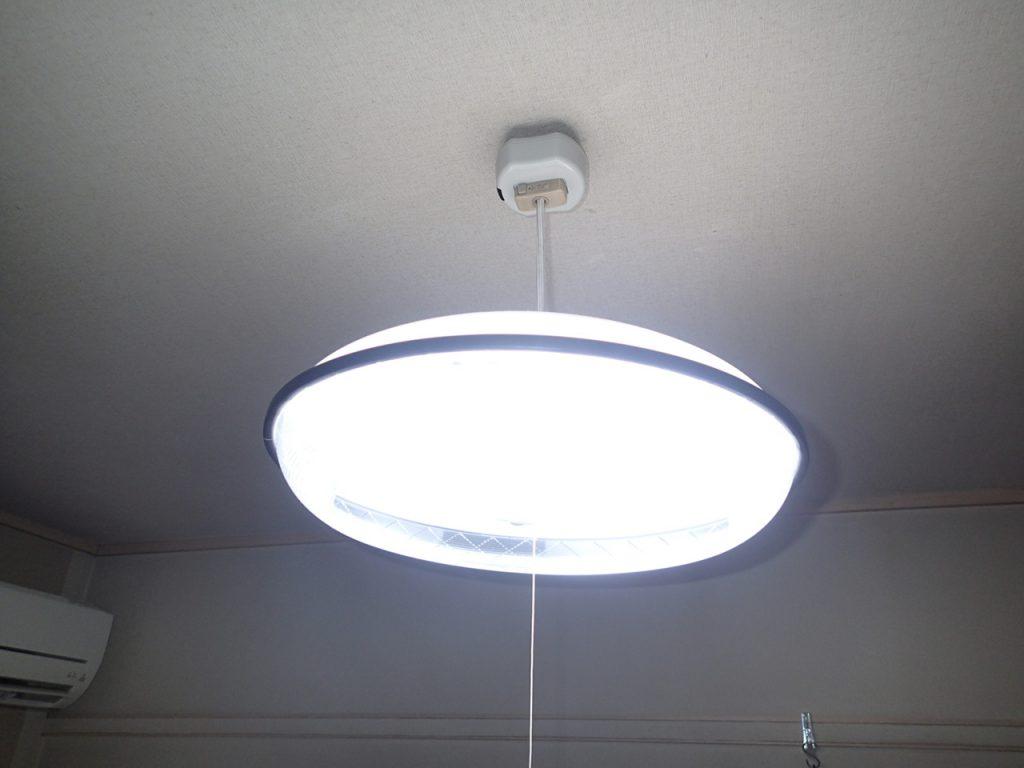 天井照明器具専用赤外線リモコンスイッチOCR-04取付